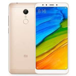 Xiaomi Redmi 5 5.7 Inch 4G LTE Smartphone 18:9 Full Screen 3GB 32GB 12.0MP Cam Qualcomm Snapdragon 450 Octa Core 1.8GHz Touch ID PRE-ORDER £130.50 @ GeekBuying