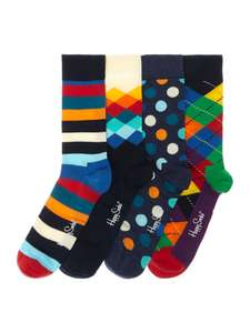 Happy Socks 4 Pack Socks Gift Set £24 @ House of Fraser