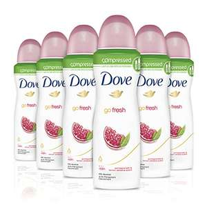 Dove Go Fresh Pomegranate Compressed Anti-Perspirant Deodorant 125 ml - Pack of 6