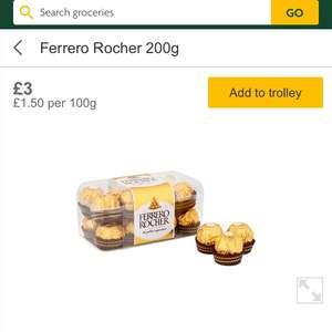 Another Ferrero Rocher deal 16 for £3 at Morrison's
