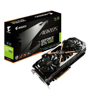 Gigabyte AORUS GeForce® GTX 1080 8G 11Gbps (rev. 2.0) + Destiny 2 £494.99 delivered @ novatech