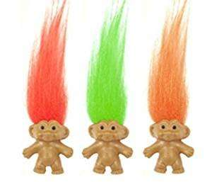 Retro Trolls - Pack of 3 £1.70 Prime Sold by Guilty Gadgets and Fulfilled by Amazon