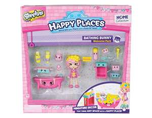 Shopkins Happy Places Bathing Bunny Welcome Pack £7.96 Amazon Prime or Toysrus