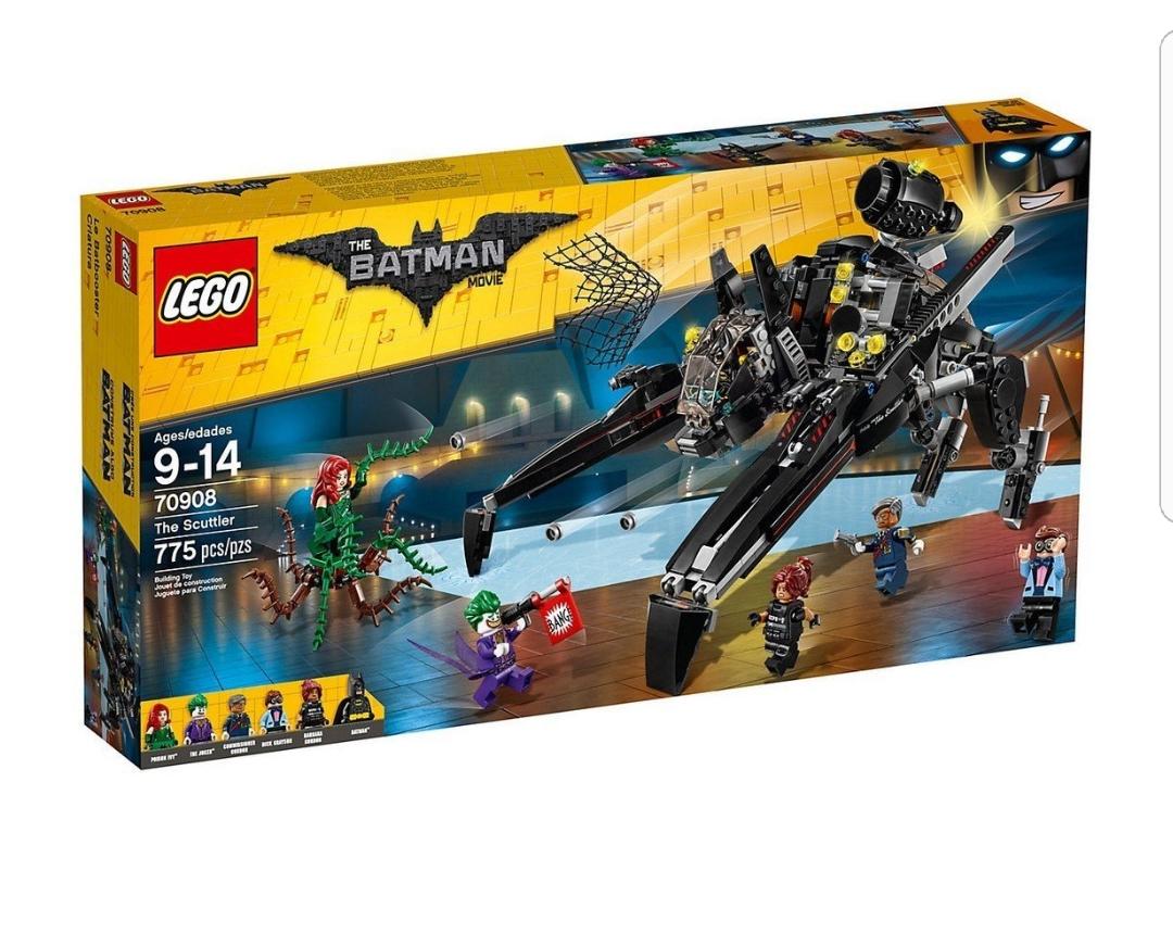 70908 LEGO Batman Movie The Scuttler Batman - Amazon £50.84 + a free LEGO movie set for orders over £50