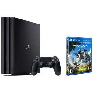Ps4 Pro (Black OR White) + Horizon Zero Dawn OR GT Sport + Playlink Game (choice of 1 out of 3) £299.99 @ Tesco Direct