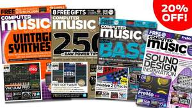 AIR Music Tech Vacuum Pro  - Virtual Instrument worth £160 - Free with Computer Music 251 £4 @ Music Radar