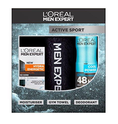 L'Oreal Men Expert Active Sport 3-Piece Gift Set £3.75 Prime @ Amazon
