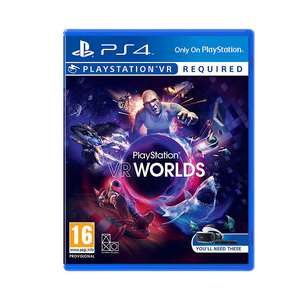 VR Worlds PS VR Game for PS4 £13.99 @ John Lewis