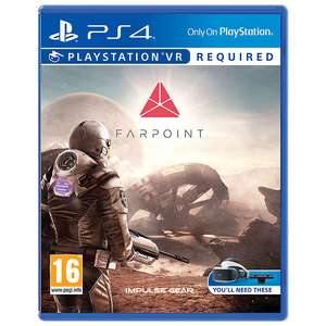 Farpoint PS VR Game for PS4 £13.99 @ John Lewis