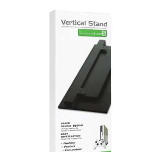 Black Vertical Stand for Xbox One S £4.85 Prime @ Sold by Mouis and Fulfilled by Amazon.