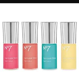 No7 nail varnish £4 today only. Buy 2 get free gift @ Boots