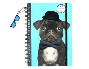 Free A5 Pug notebook (1000 to be given away be quick)