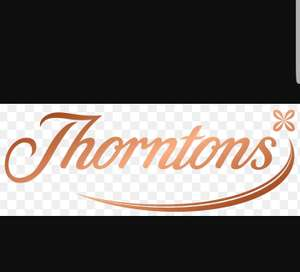 Free Thornton chocolate bar (30,000 to give away) in-store with code emailed