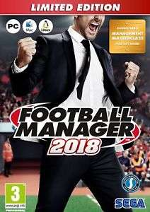 Football Manger 2018 Limited Edition - ShopTo ebay for £19.85
