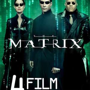 Matrix 4 Film Collection (Trilogy+Animatrix) on Google Play for £9.99
