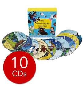Julia Donaldson Audio Collection - 10 CDs now £6 Deal of The Day @ The Book People (+ £2.95 P+P for orders under £25 - code to take £5 off £25 in OP)