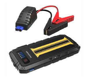 Ravpower Car Jump start, Amazon Lightening deal, save 20% for £23.99 Sold by Sunvalleytek-UK and Fulfilled by Amazon