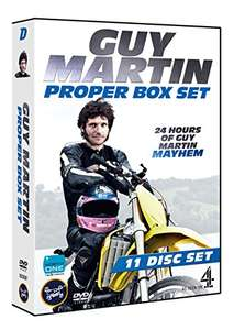 Guy Martin's Proper Box Set [DVD] at Amazon for £19.49 Prime (£20+ free del or add £1.99)