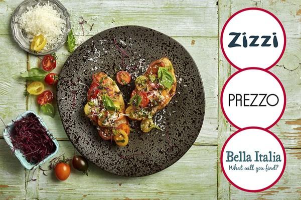 Italian meal voucher from Buyagift (Prezzo/Zizzi/BellaItalia) for £23.99