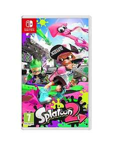 Splatoon 2 Switch and Slimmer Bars for £30.58 with new customer code @ littlewoods