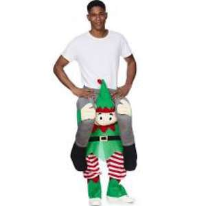 Ride on Elf costume £20 @ Tesco free c&c and free delivery saver
