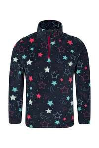 Endeavour Kids Printed Fleece for £3.99 with code (WINTER20) plus free delivery @ Mountain Warehouse