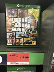 Grand Theft Auto V (GTA V) on XBONE/PS4 £19.99 @ Sainsburys
