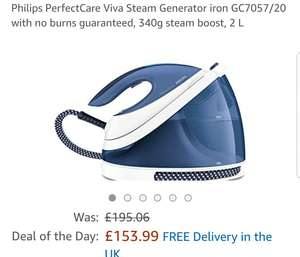 Philips PerfectCare Viva Steam Generator iron GC7057/20 £153.99 @ Amazon