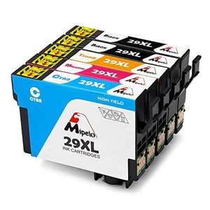 Mipelo Compatible Epson 29XL 29 Ink Cartridges 5 Pack £9.79 applying 30% promotion @ Mipelo Fulfilled by Amazon (Price is for Prime members)