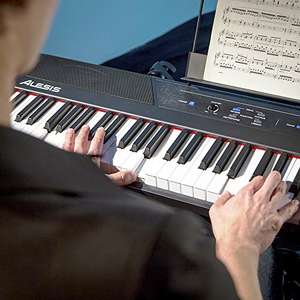 Alesis Recital 88-Key Beginner Digital Piano with Full-Size Semi-Weighted Keys - Amazon Daily Deal £184.99