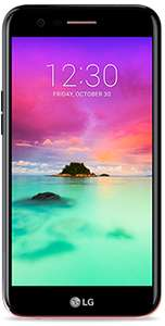 LG K10 2017 (Black / Unlocked) for £109 ( £64 with cashback) @ GiffGaff (Incl. min £10 Goodybag)