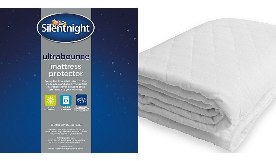 Silentnight Ultrabounce Mattress Protector - SINGLE SIZE ONLY