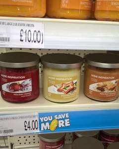 Home Inspiration by Yankee Candle £4 instore @ Poundworld ( Exeter)