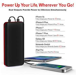 25000mAh Power Bank for £22.99 @ Amazon (Sold by Highway Techbuy and Fulfilled by Amazon)