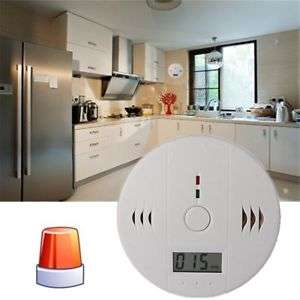 carbon monoxide detector alarm, with LCD display, 3xAA £5.25 Del @ ebay (sold by VJK STORE)