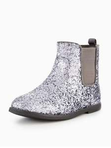 Mini V by Very Sofia Glitter Chelsea Ankle Boot (Was £28) Now £20 at Very / Free C&C( links in post)