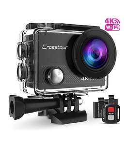 Crosstour 4K action camera with wrist remote control at Amazon (lightning deal) Sold by CrosstourDirect and Fulfilled by Amazon £39.81