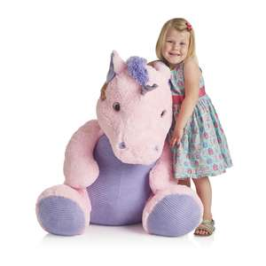 Wilko Ulla the Massive Unicorn Plush 80cm £25 Free C&C or £4 Delivery