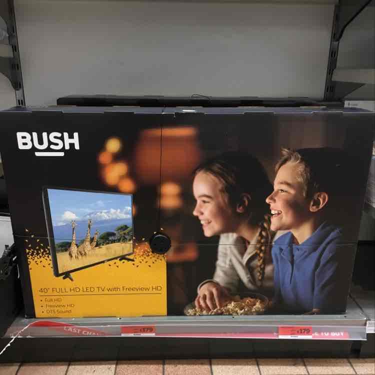 "Bush 40"" Full HD Led TV £179 in Sainsburys Lewisham"