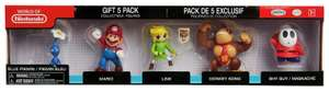World of Nintendo - 5 Figure Pack Gift Set £12.99 (C&C) @ Argos