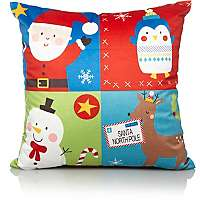 Christmas Countdown Patchwork Cushion was £5 now £3.50 C+C @ Asda George