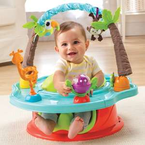 Half price Wild Safari Deluxe Superseat, now only £25 Del with code @ Summer Infant