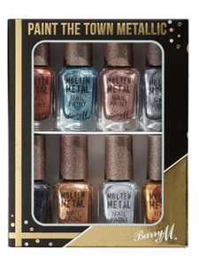 Barry M Molton Metals set of 8 was £22 now £10 instore or + £2 C+C @ HOF