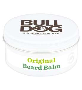 Buy 1 get 1 free on selected Bulldog skincare - Bulldog Original Beard Balm 50g £8 & BOGOF @ Boots