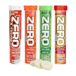4 Tubes (of 20 tabs) High5 Sports Zero Active Hydration Tablets £11.96 w/code @ PBK