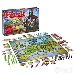 Risk Europe Board Game - Time for a Real BREXIT Strategy! - £12.53 Prime / £17.28 non Prime - Sold by F & F Stores and Fulfilled by Amazon