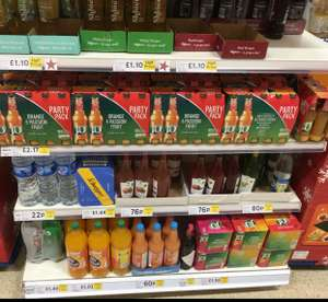 J2o Orange & Passionfruit 10x275ml bottles only £2.17 @ Tesco Castlereagh Road instore