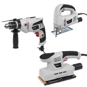 3pc Powerplus Tool Kit £33.97 delivered with code @ ukhs.tv