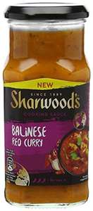 Sharwoods Balinese Red Curry Cooking Sauce, 420g - £1 (Add-on item) @ Amazon