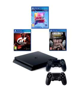 PS4 500GB +3 games + Extra PS4 Controller £280.48 After code (studio)